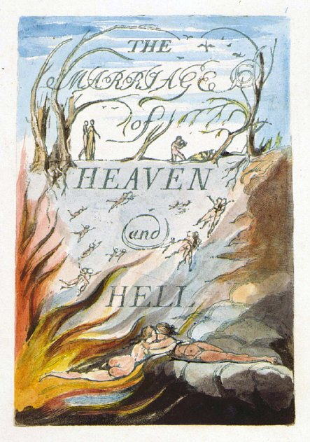 Image result for the marriage of heaven and hell