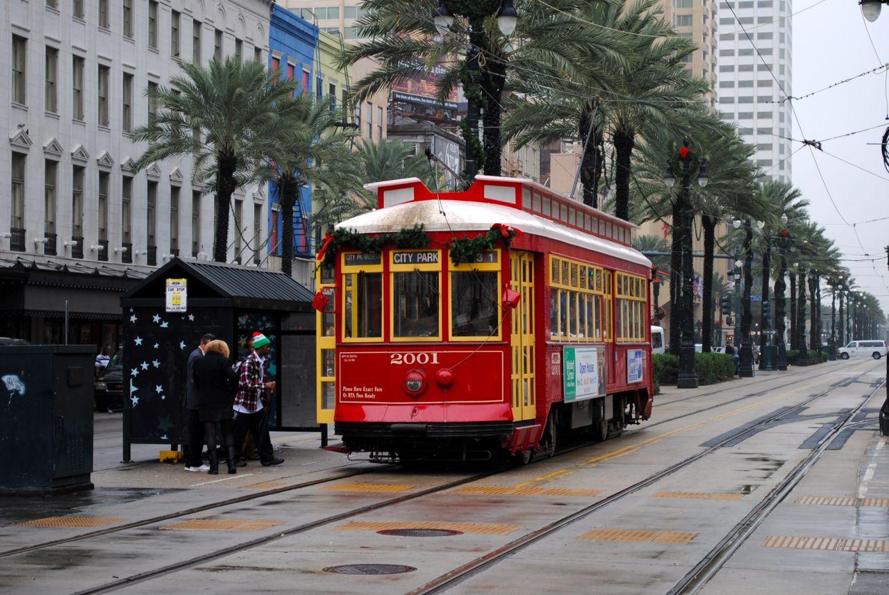 FileNew Orleans Streetcars Jpg Wikimedia Commons - Street cars