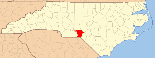 Richmond County Nc Map.National Register Of Historic Places Listings In Richmond County