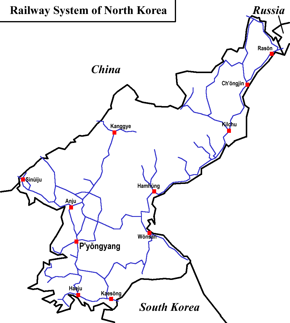 Rail transport in North Korea - Wikipedia on russia soccer team, russia usa, russia military drills, russia x japan, usa map, russia men, russia in asia, russia world's end, russia nukes, russia in russian, russia air strike, america map, singapore map, russia land, relative size of africa map, russia nature, russia in europe, ukraine map,