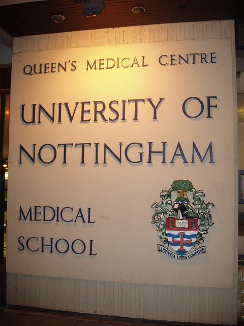 studying medicine at nottingham university Why do postgraduate studies, and why choose nottingham trent university how do you apply, and how will you pay for your course find answers to these questions and.