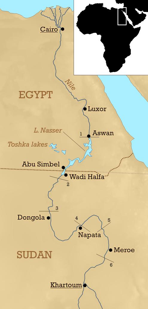 six cataracts of egypt