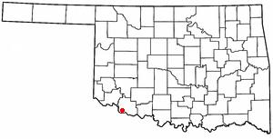 Davidson, Oklahoma Town in Oklahoma, United States