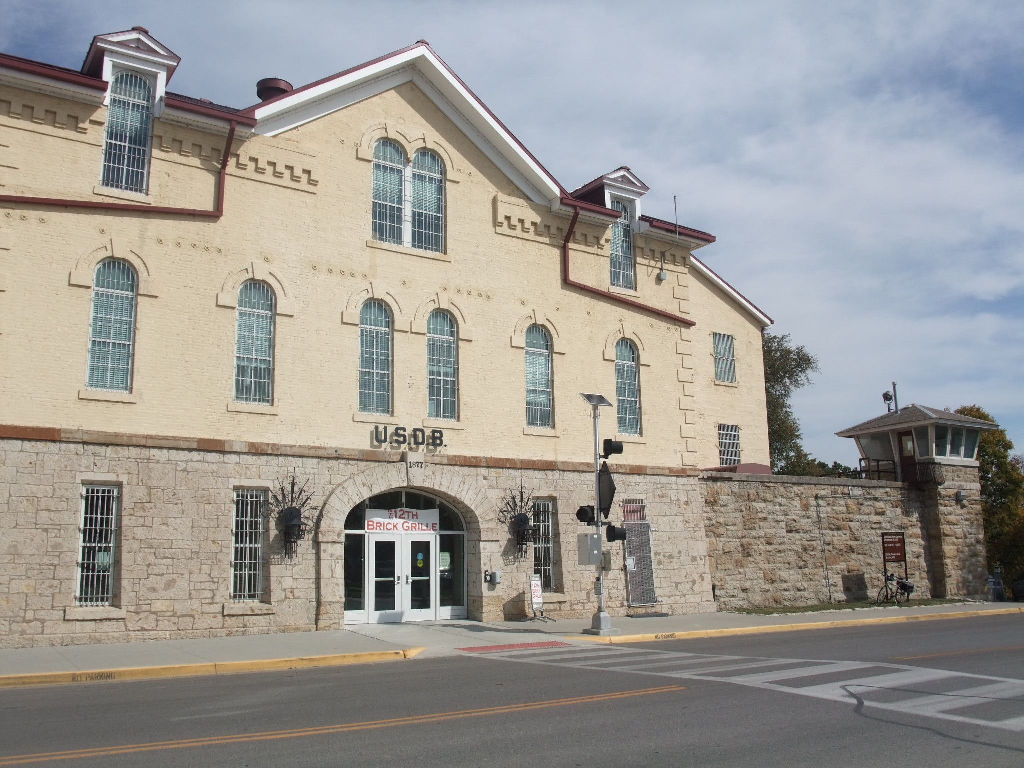 Leavenworth (KS) United States  city pictures gallery : ... United States Disciplinary Barracks USDB , Fort Leavenworth, Kansas
