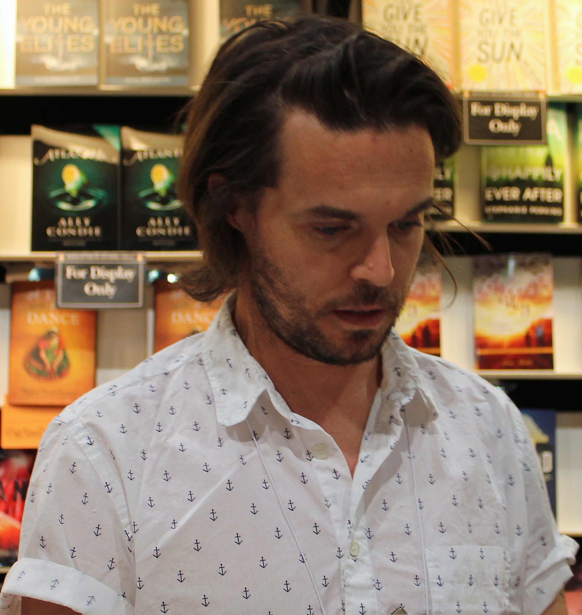 Oliver Jeffers in 2014