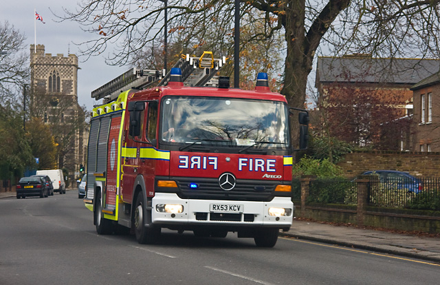 fire engine uk