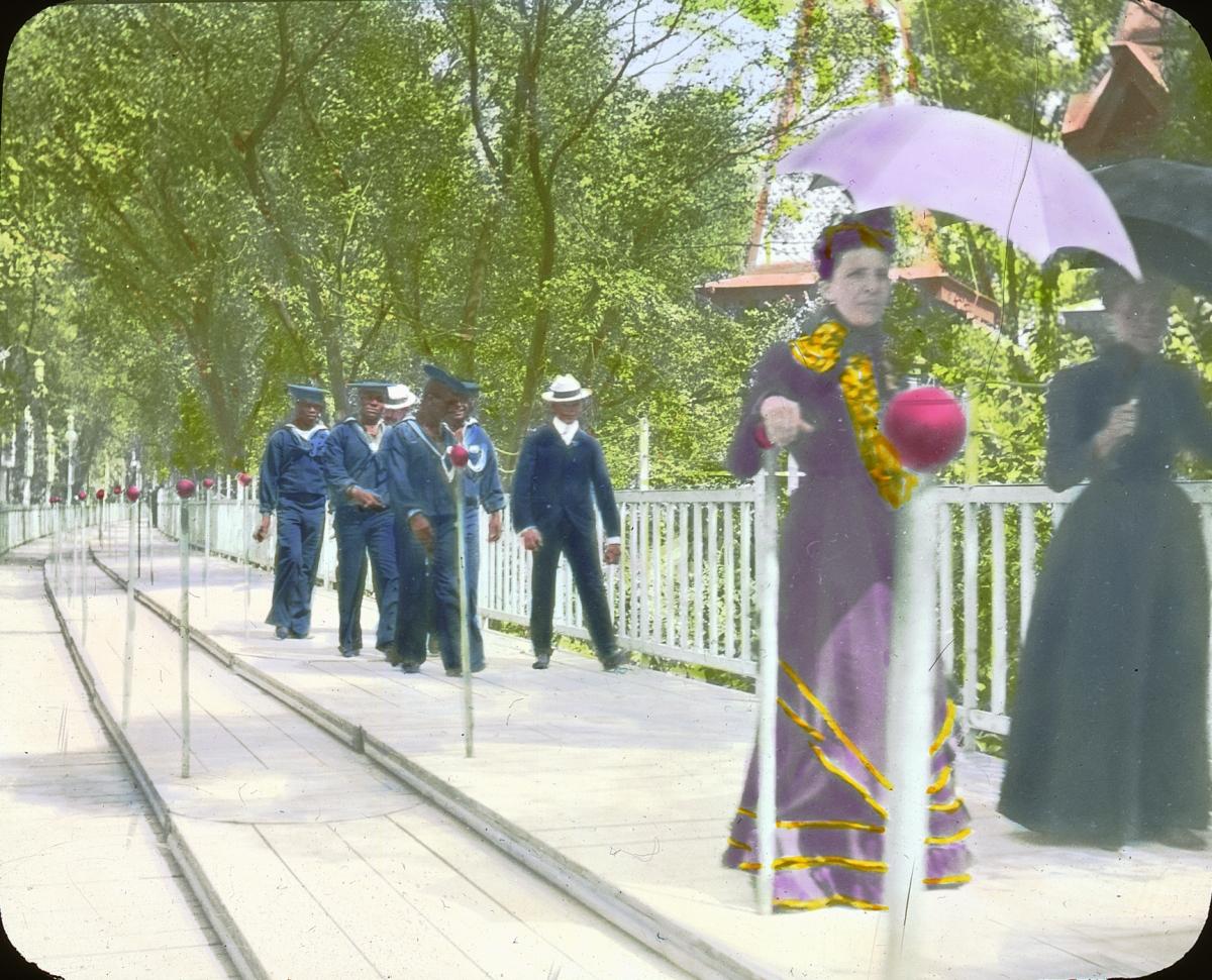 file paris exposition moving sidewalk  paris  france  1900