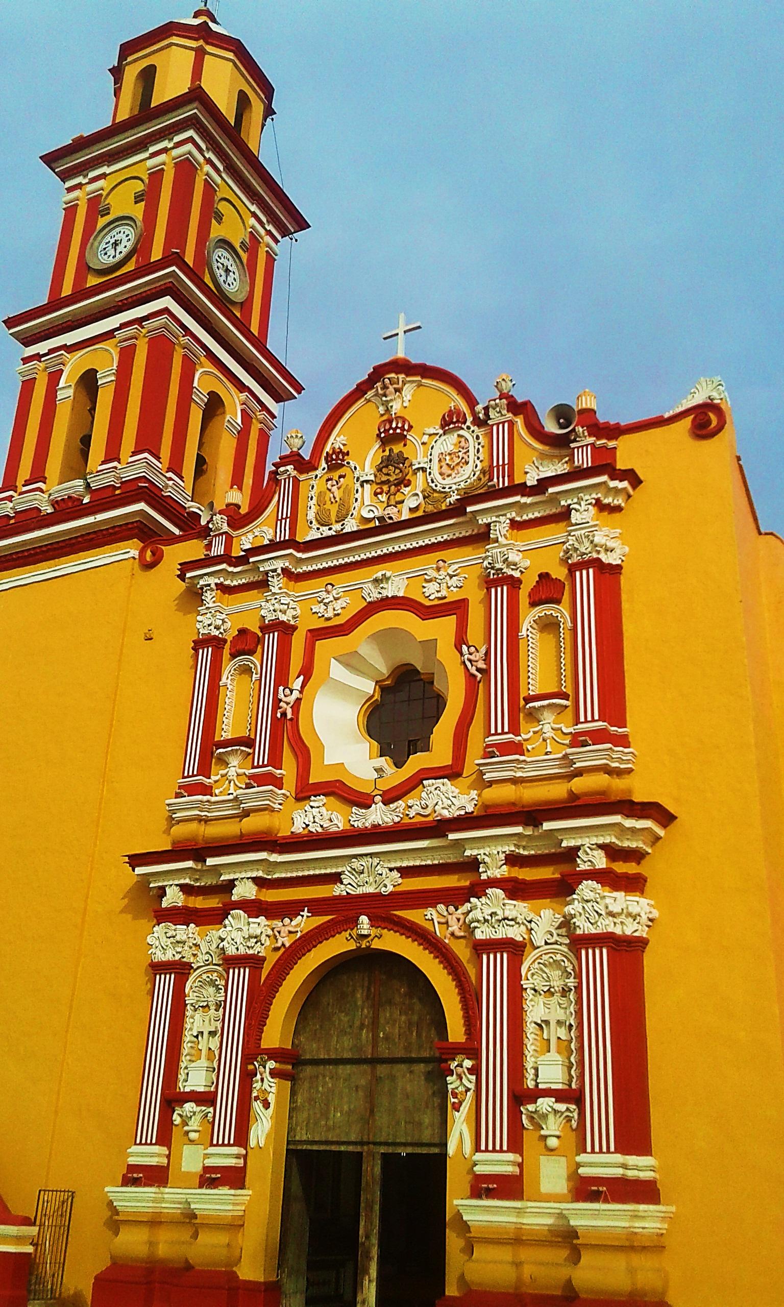 Iglesia de Amatlán de los Reyes, una de las paradas en la ruta del café