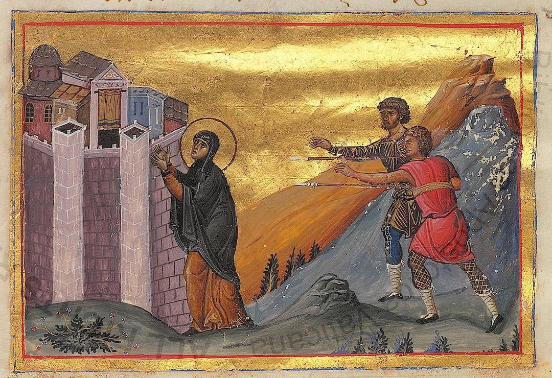 Pelagia of Antioch, circa 1000, Constantinople