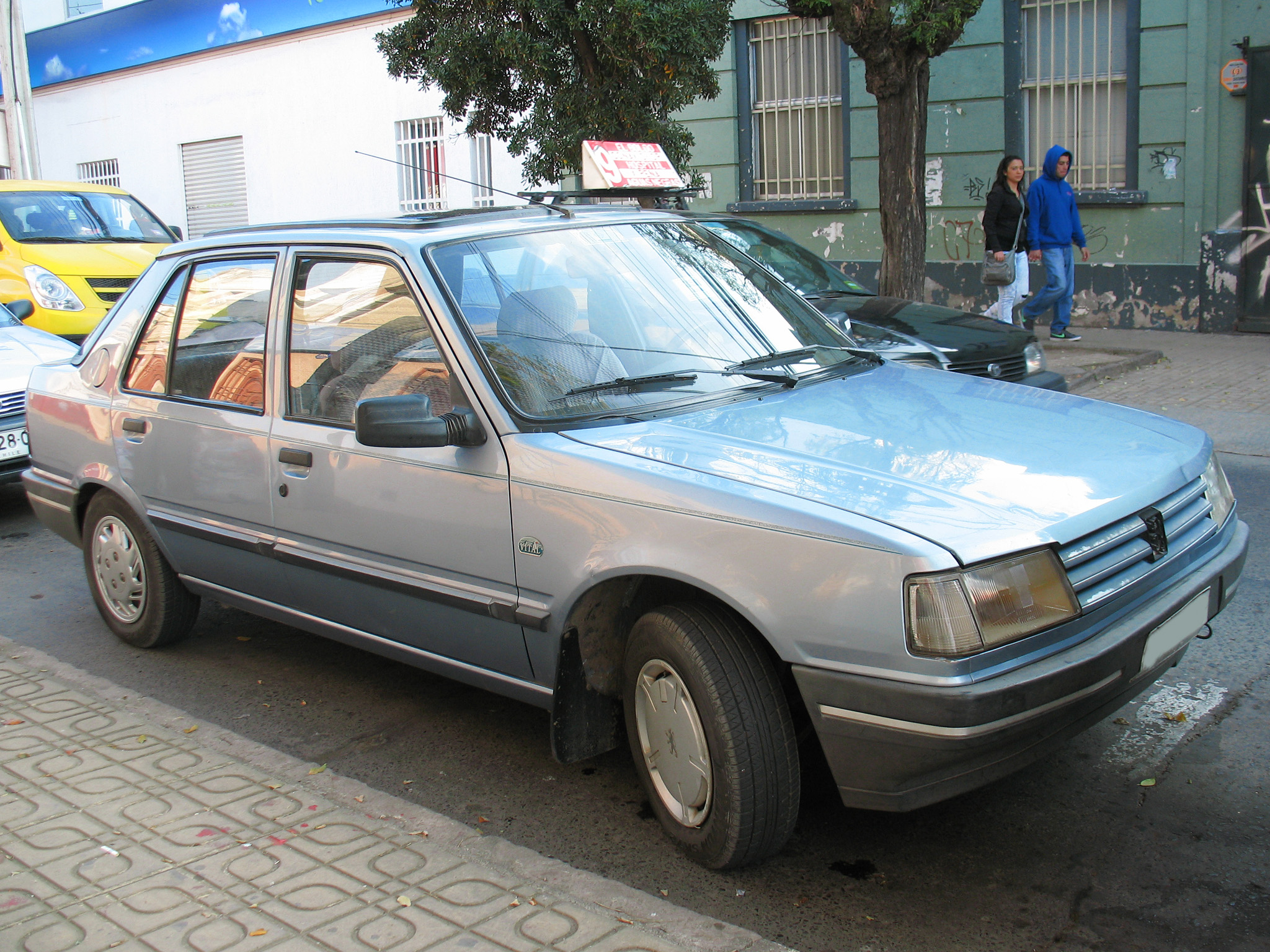 File Peugeot 309 Gli Vital 1993 15099457586 Jpg Wikimedia Commons
