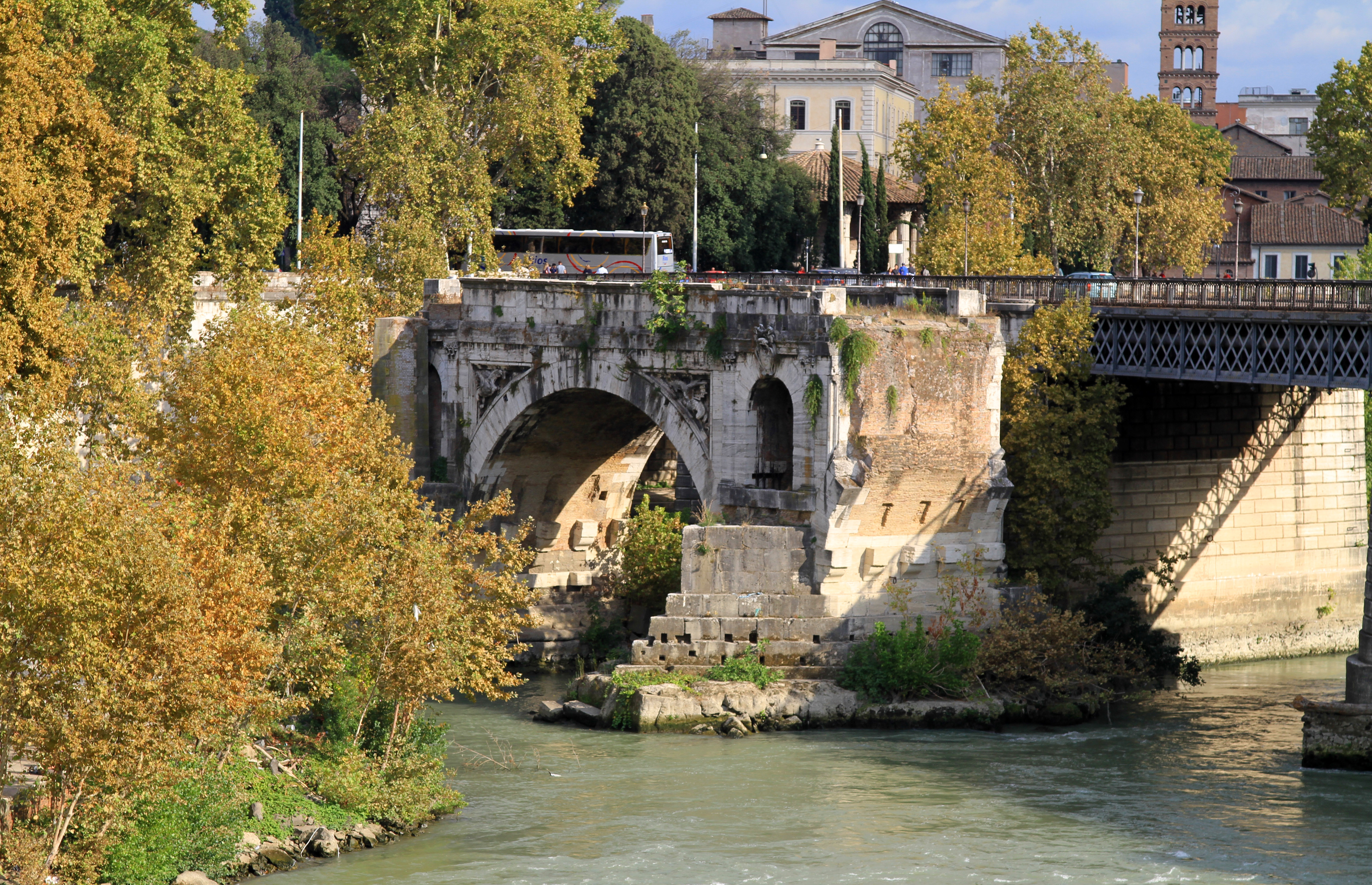 Ponte In Muratura.File Ponte Rotto Pons Aemilius Primo Ponte In Muratura Di