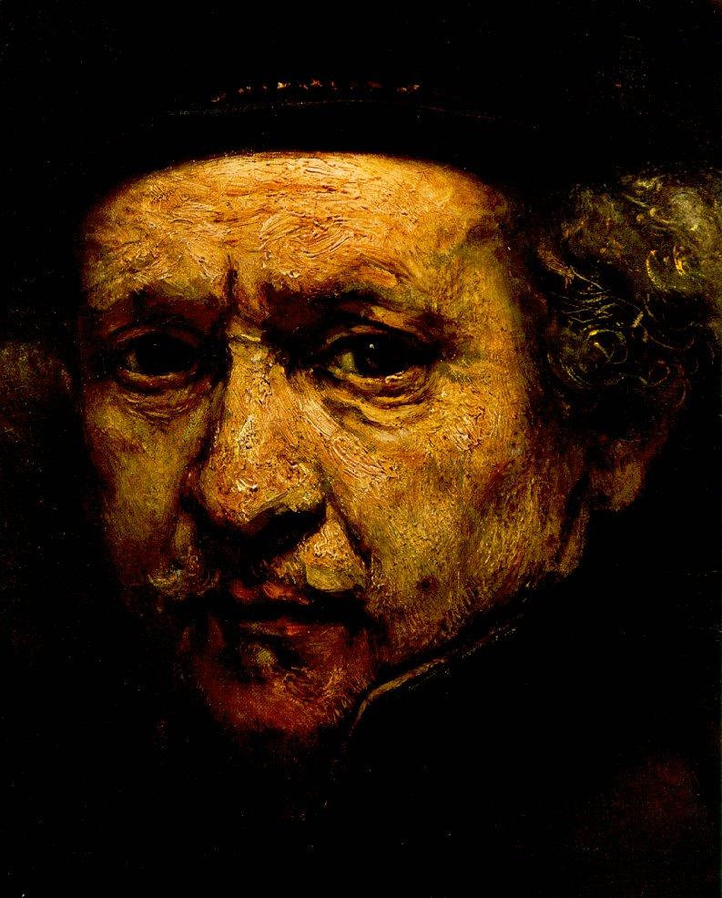 Rembrandt Self Portrait Oil Painting