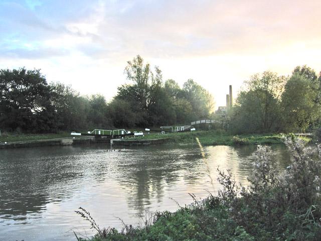 River Soar, Belgrave, Leicester - geograph.org.uk - 70275