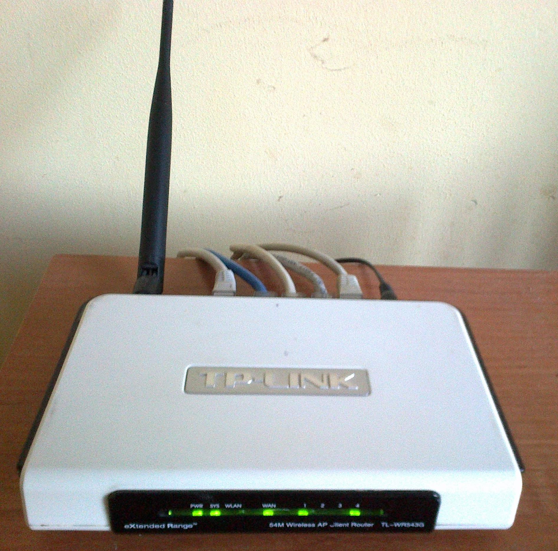 TP-LINK TL-WR543G ROUTER DRIVERS WINDOWS 7
