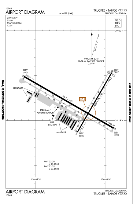 Filerunway Diagram For Trukee Tahoe Airport Ktrkg Wikimedia