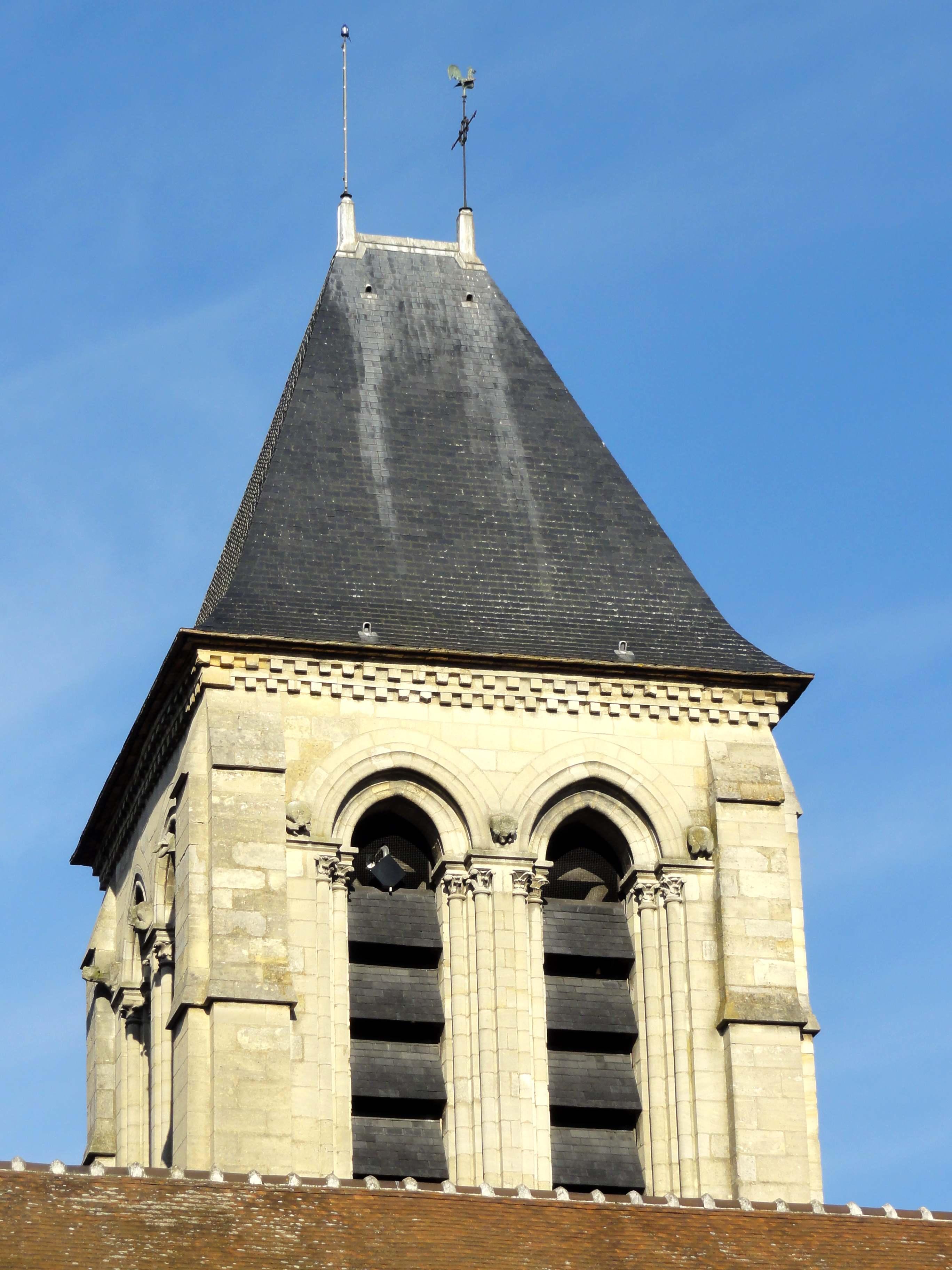 fichier saint brice sous for t 95 glise saint brice clocher c t sud jpg wikip dia. Black Bedroom Furniture Sets. Home Design Ideas