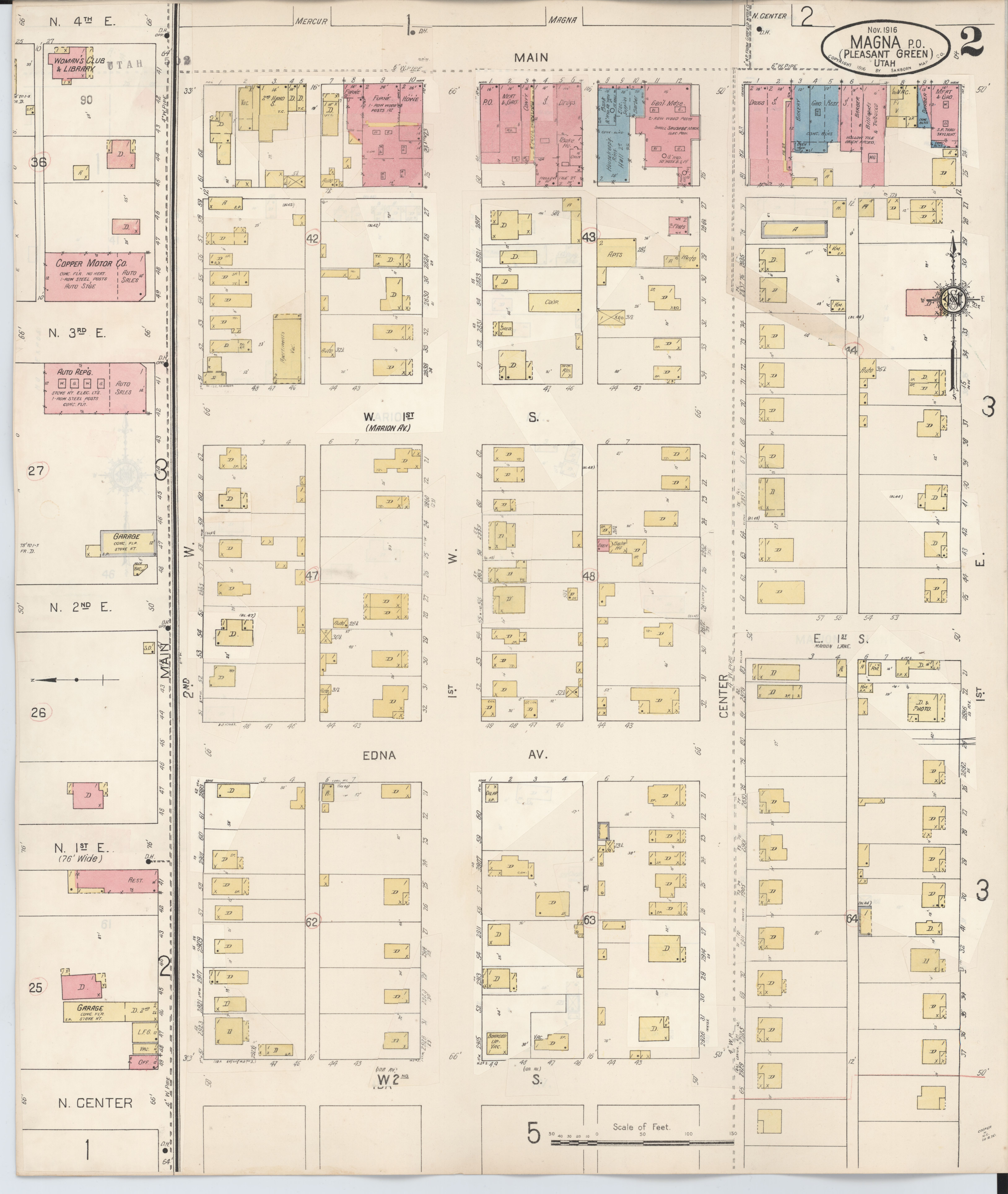 File:Sanborn Fire Insurance Map From Magna, Salt Lake