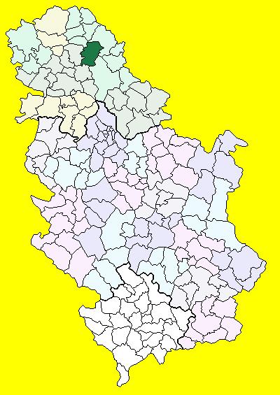 novi becej mapa Novi Bečej (općina) – Wikipedija novi becej mapa