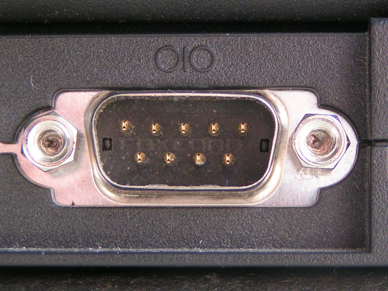Serial port wikipedia for What does porte mean