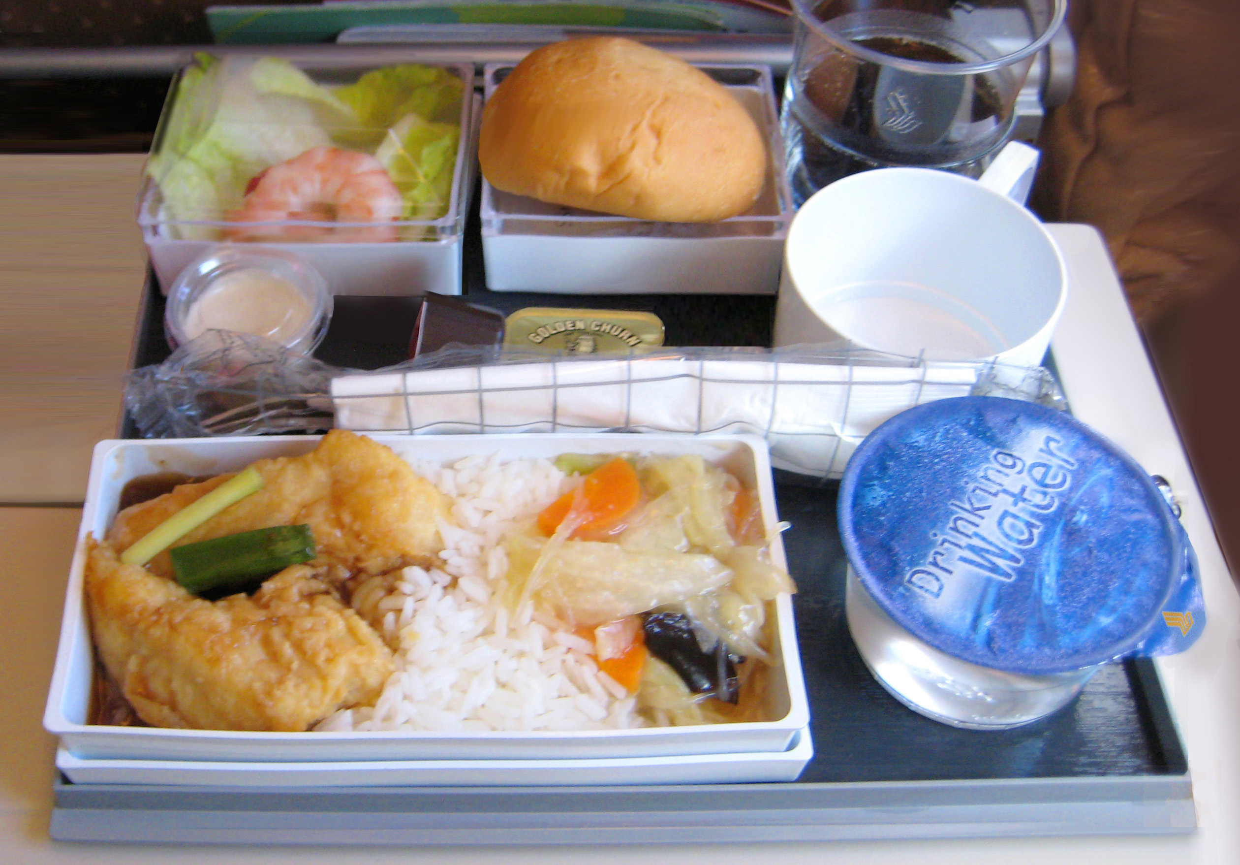 Malaysia Airlines Food Review