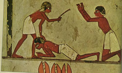 Punishment in ancient Egypt Slavebeating.jpg