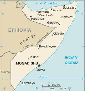 Geografia della Somalia - Wikipedia