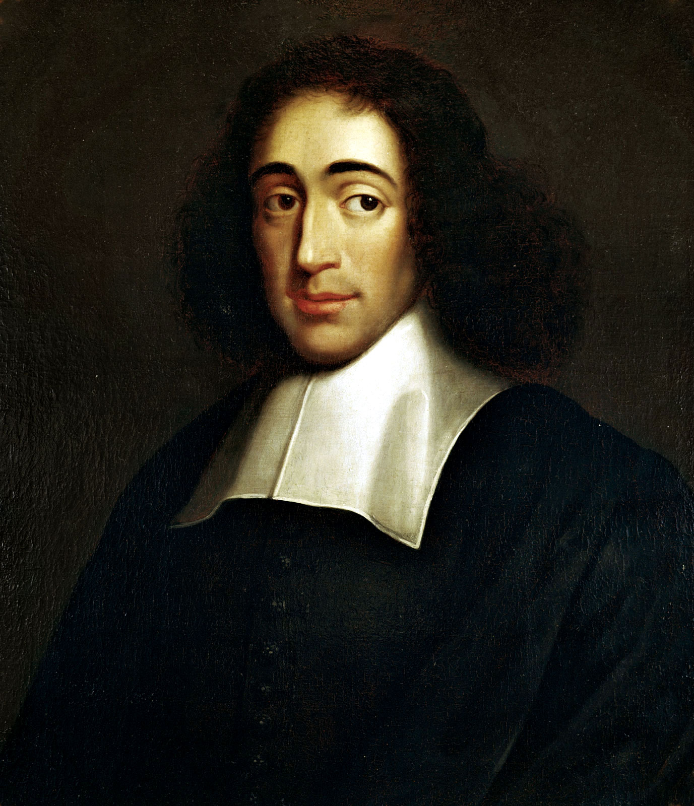 Depiction of Baruch Spinoza