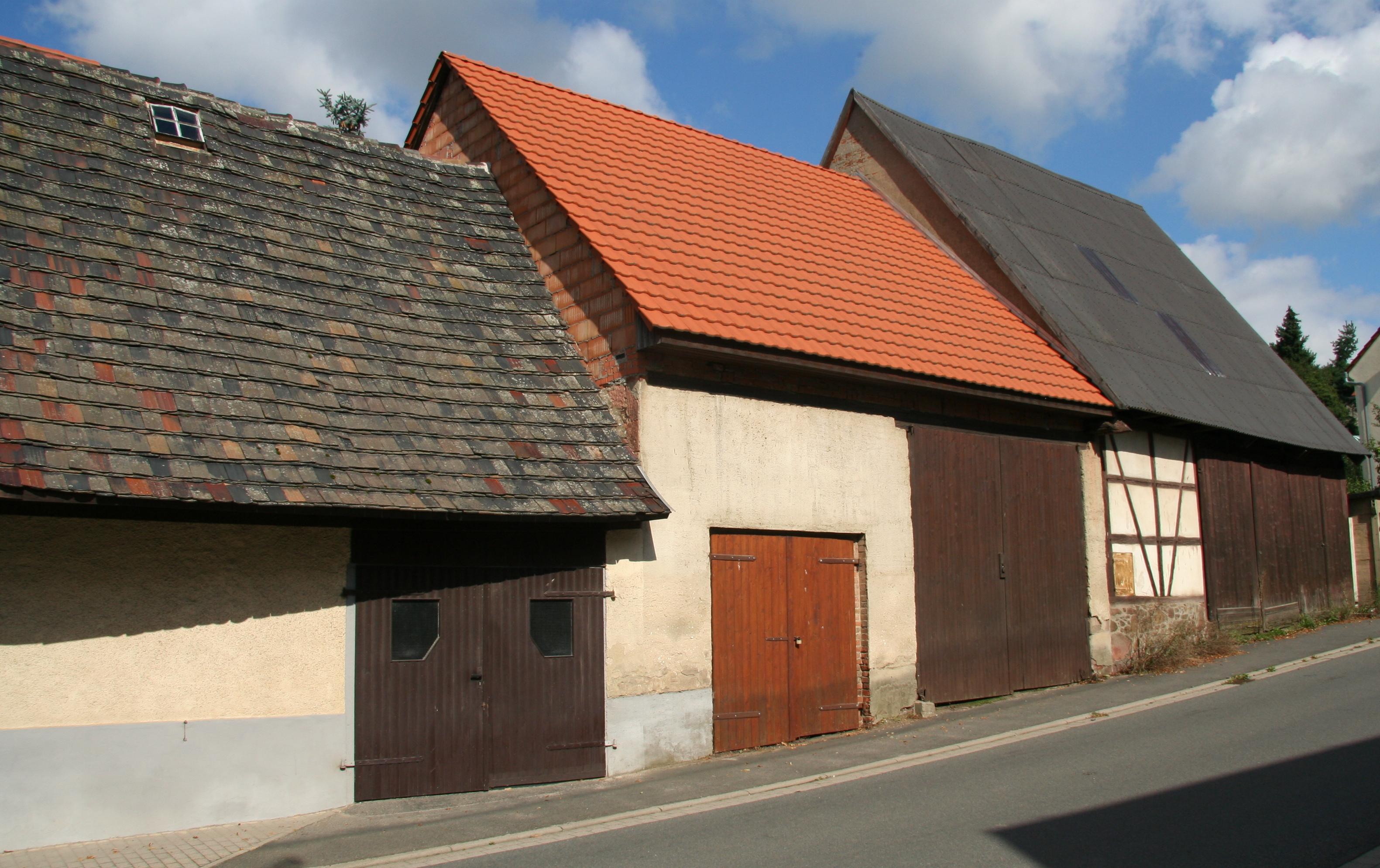 Stadtscheunen Bruchheimer Strasse Geithain