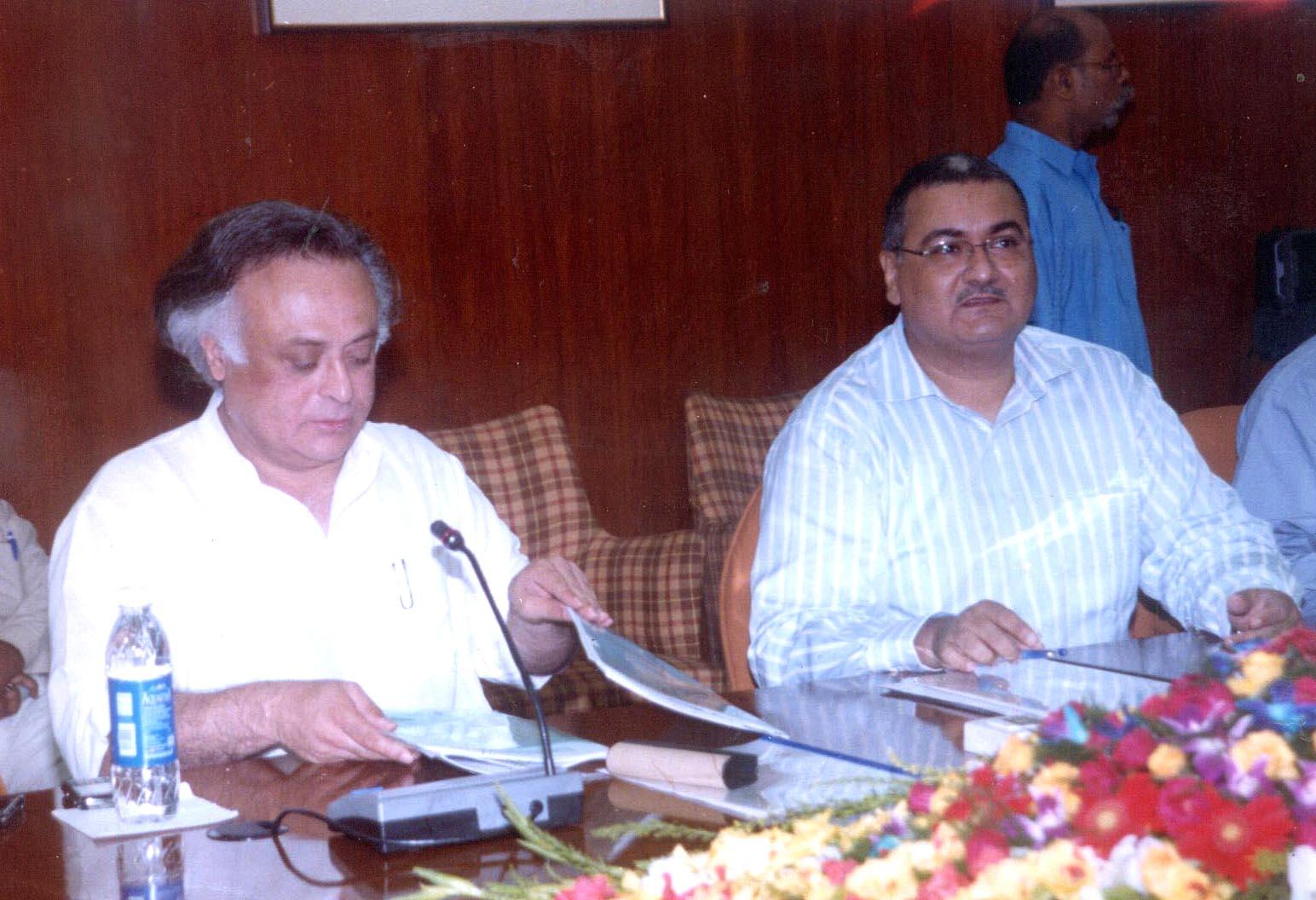 File:The Minister of State for Commerce, Shri Jairam Ramesh