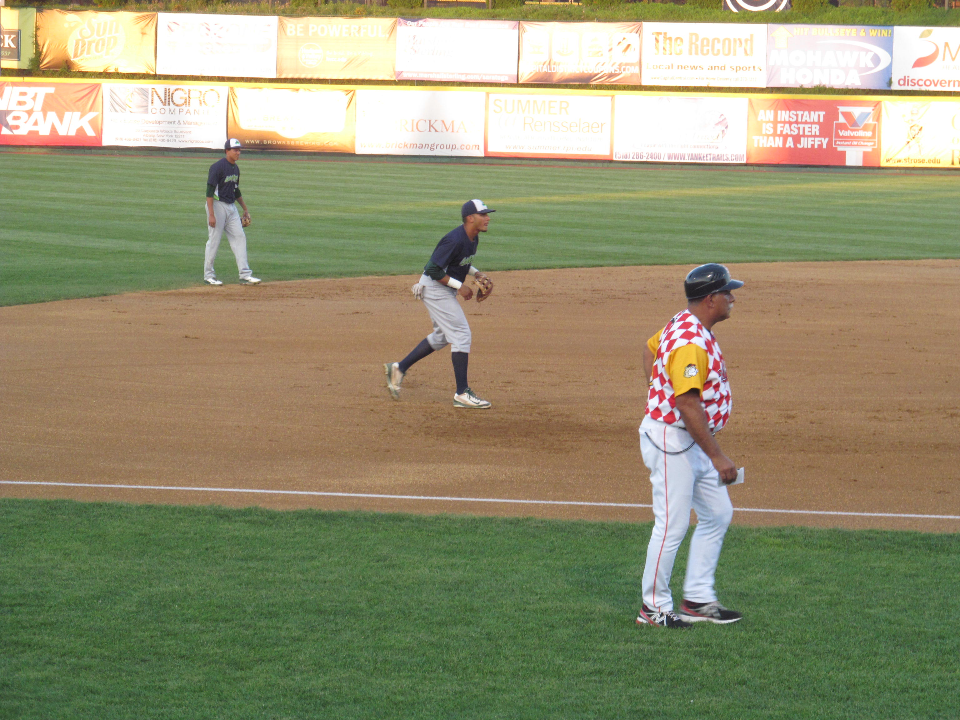 File:Tri-City ValleyCats vs  Vermont Lake Monsters - August