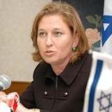 Partijleider Tzipi Livni
