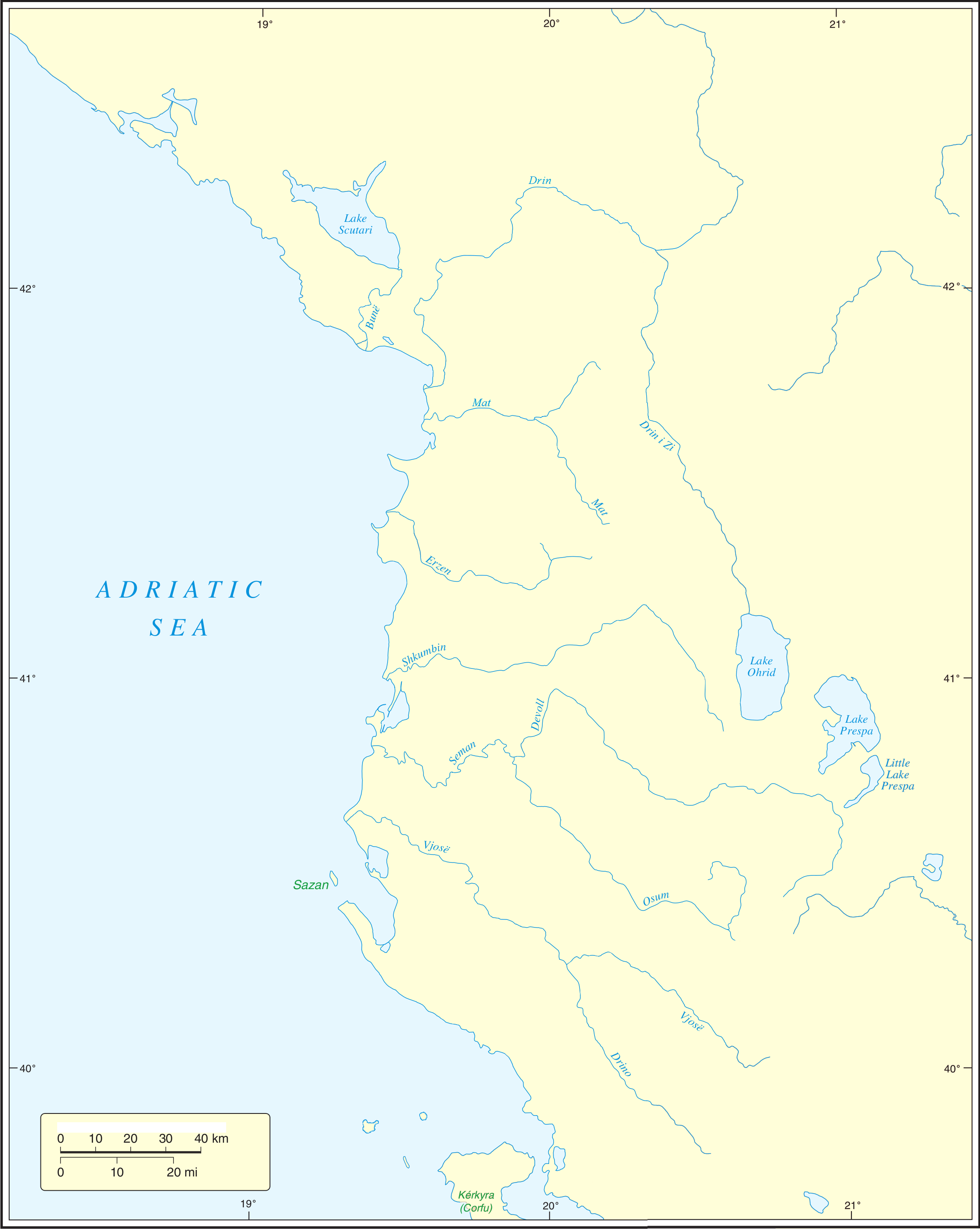 FileUnmarked Map Of Albaniapng Wikimedia Commons - Unmarked map