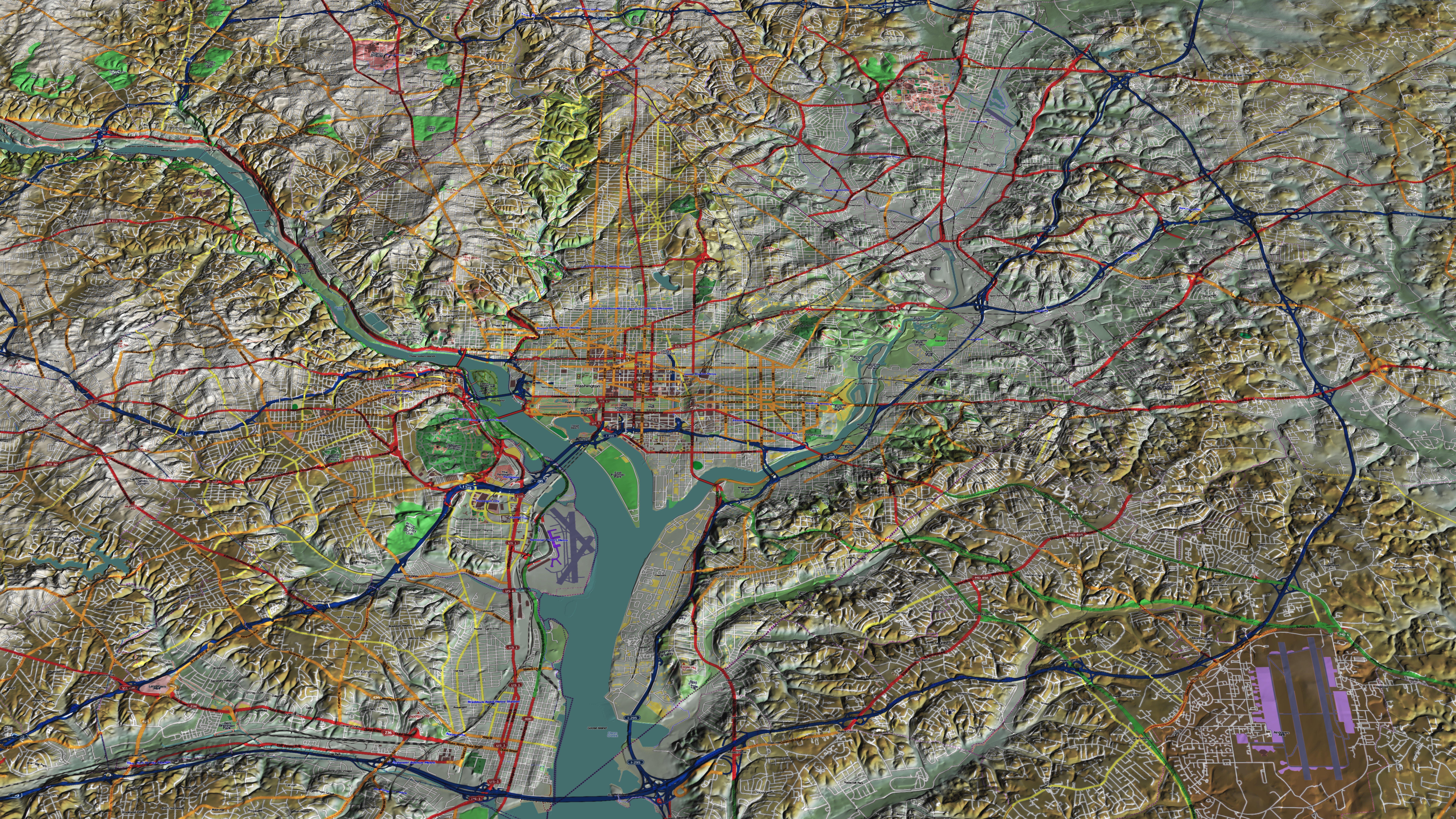 Geography of washington dc wikiwand publicscrutiny Images
