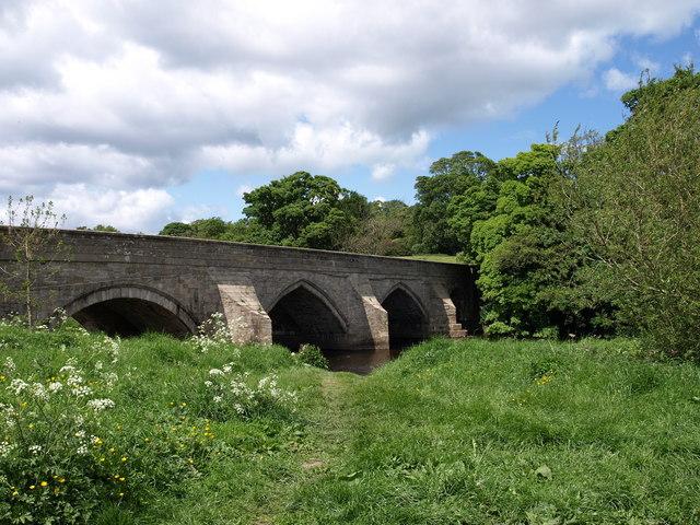 Wensley Bridge - geograph.org.uk - 1390846
