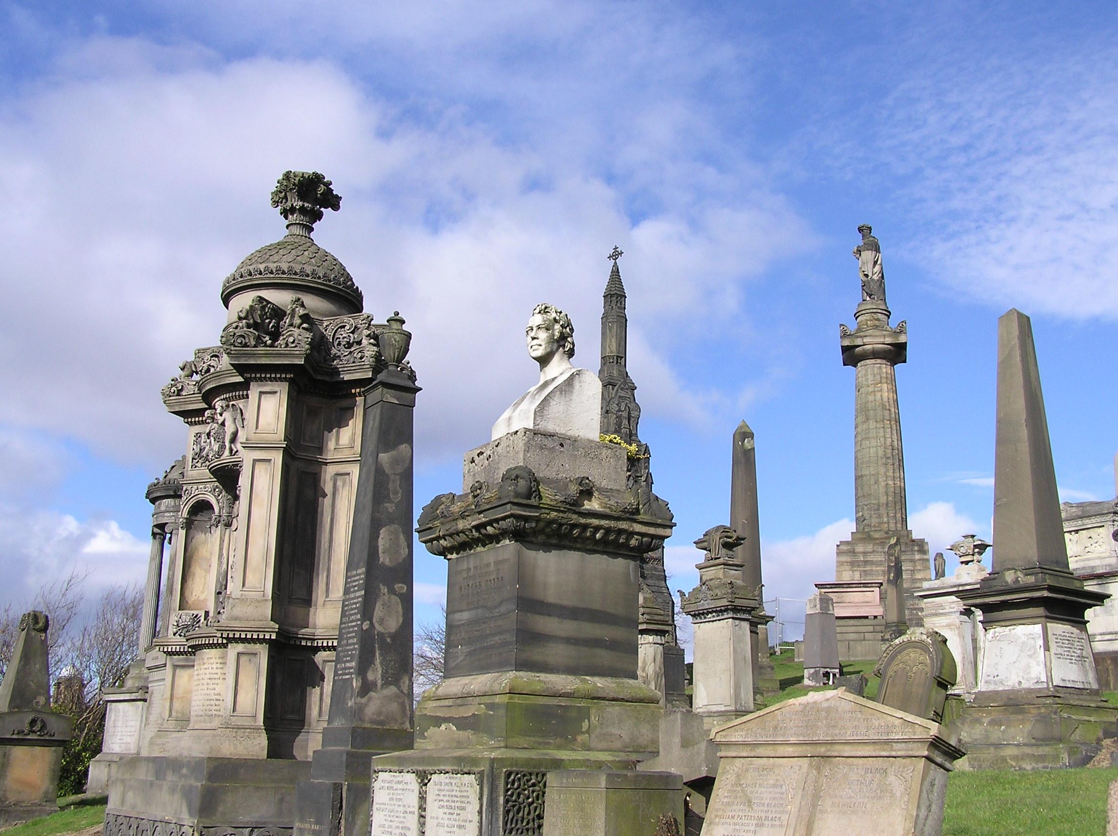 The Glasgow Necropolis Scotland