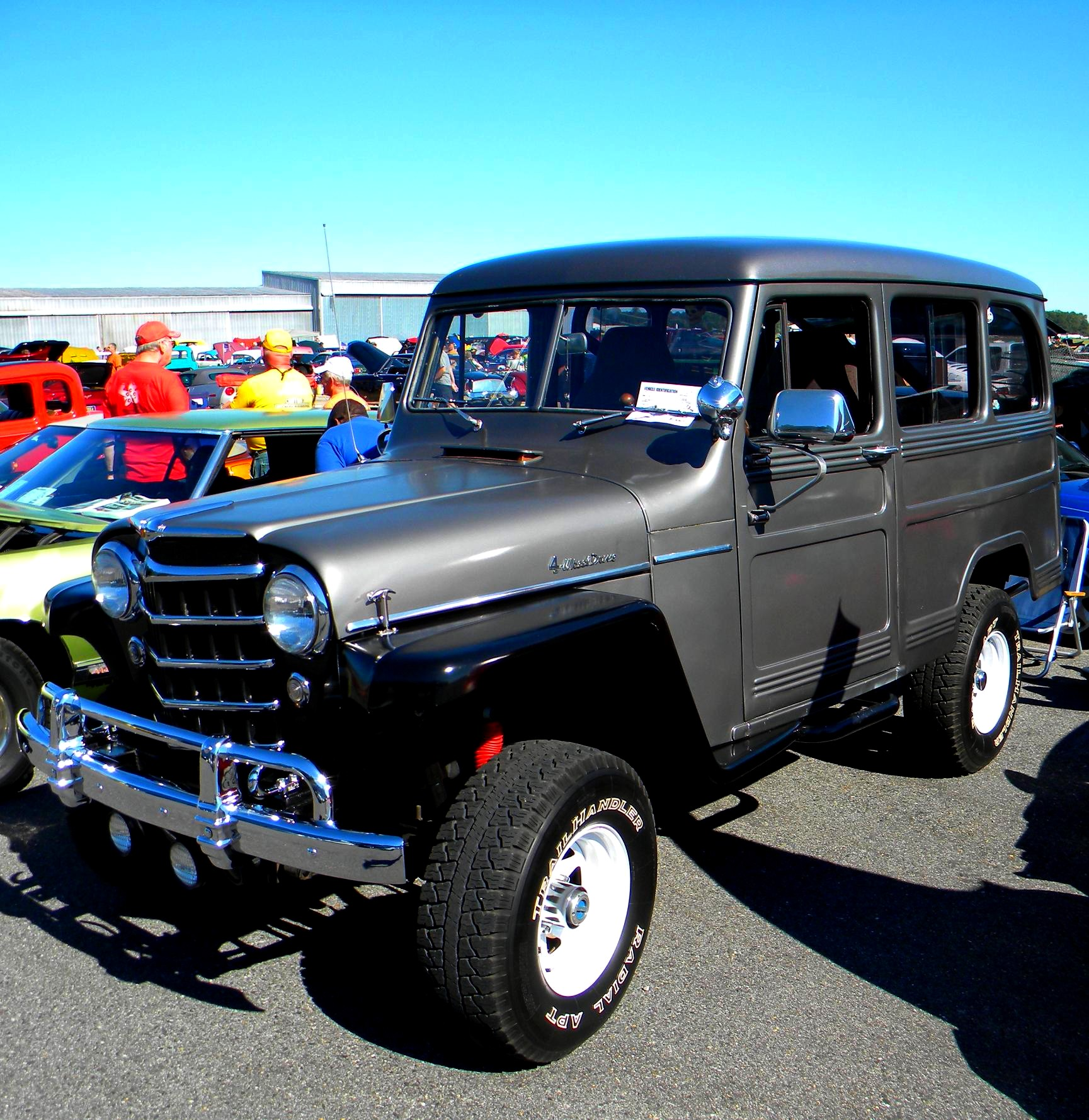 Image 12 Of 50 1963 Willys Jeep Station Wagon For Sale Part 1950 Pickup Truck Filewillys 4x4 Wikimedia Commons