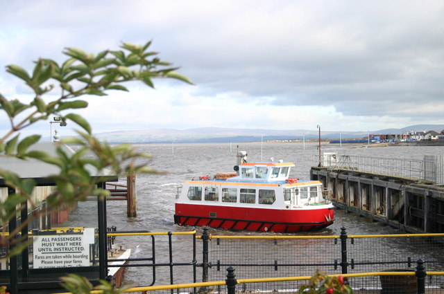 Wyre Estuary ferry - geograph.org.uk - 1028474