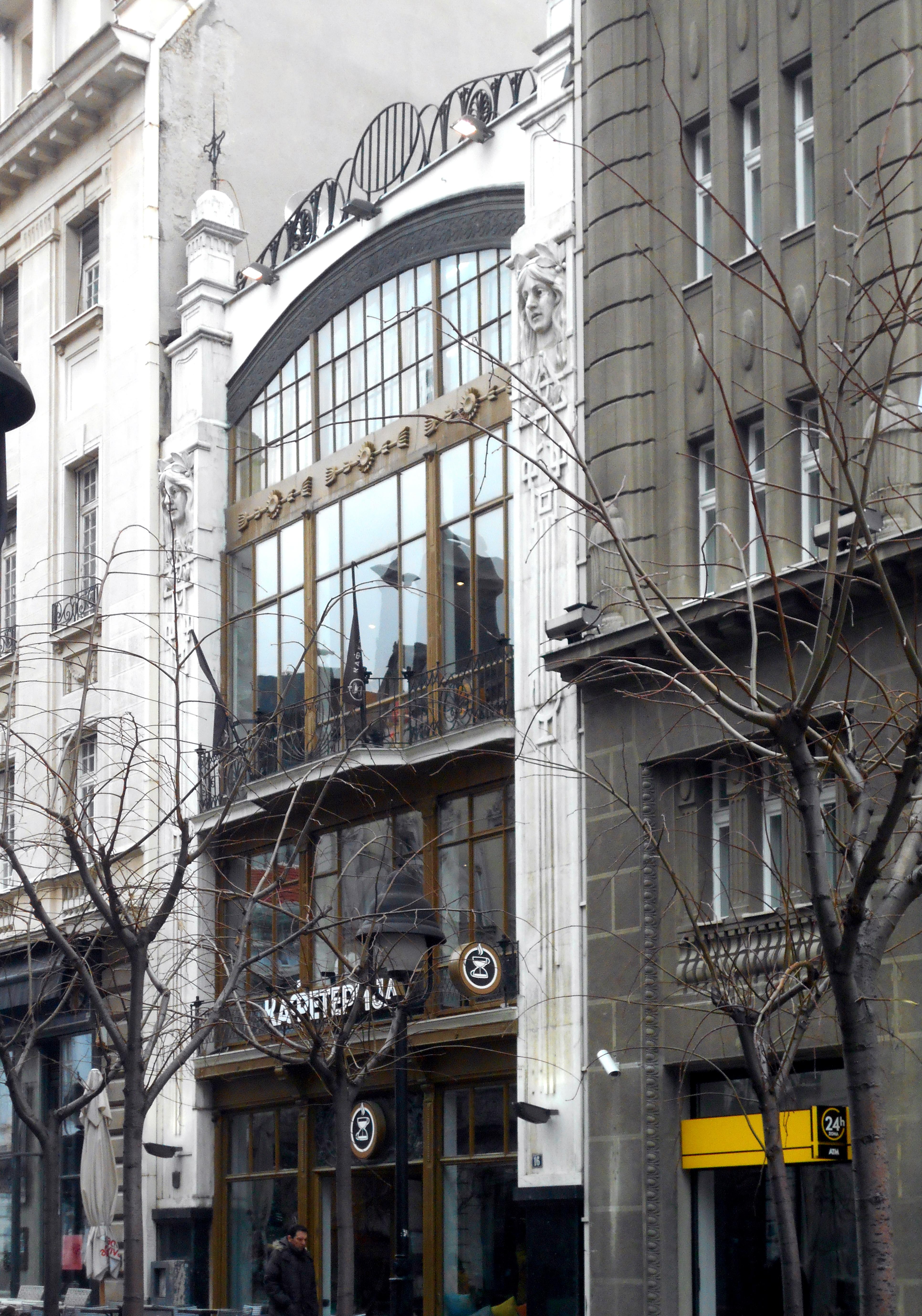 Datoteka Zgrada Robnog Magazina Kralja Petra 16 Beograd 1 Jpg