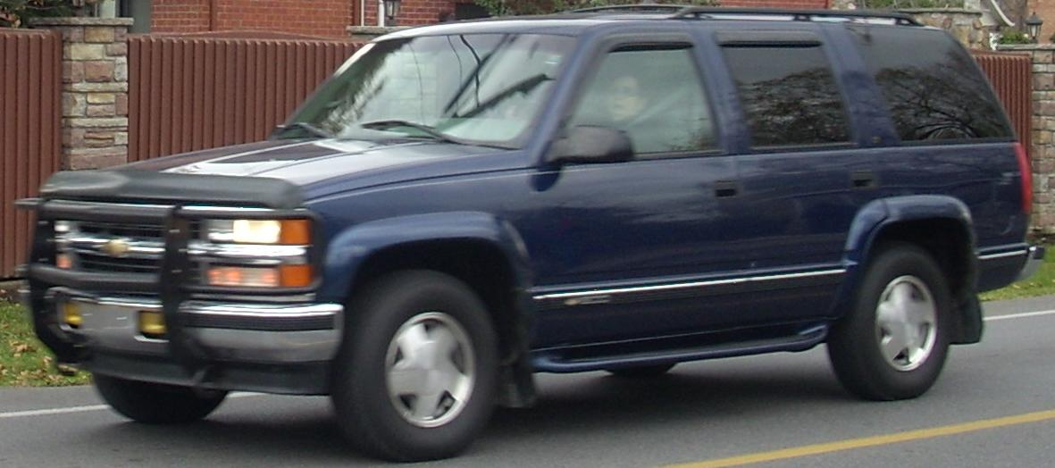 Chevrolet Tahoe on 1995 Chevrolet Blazer