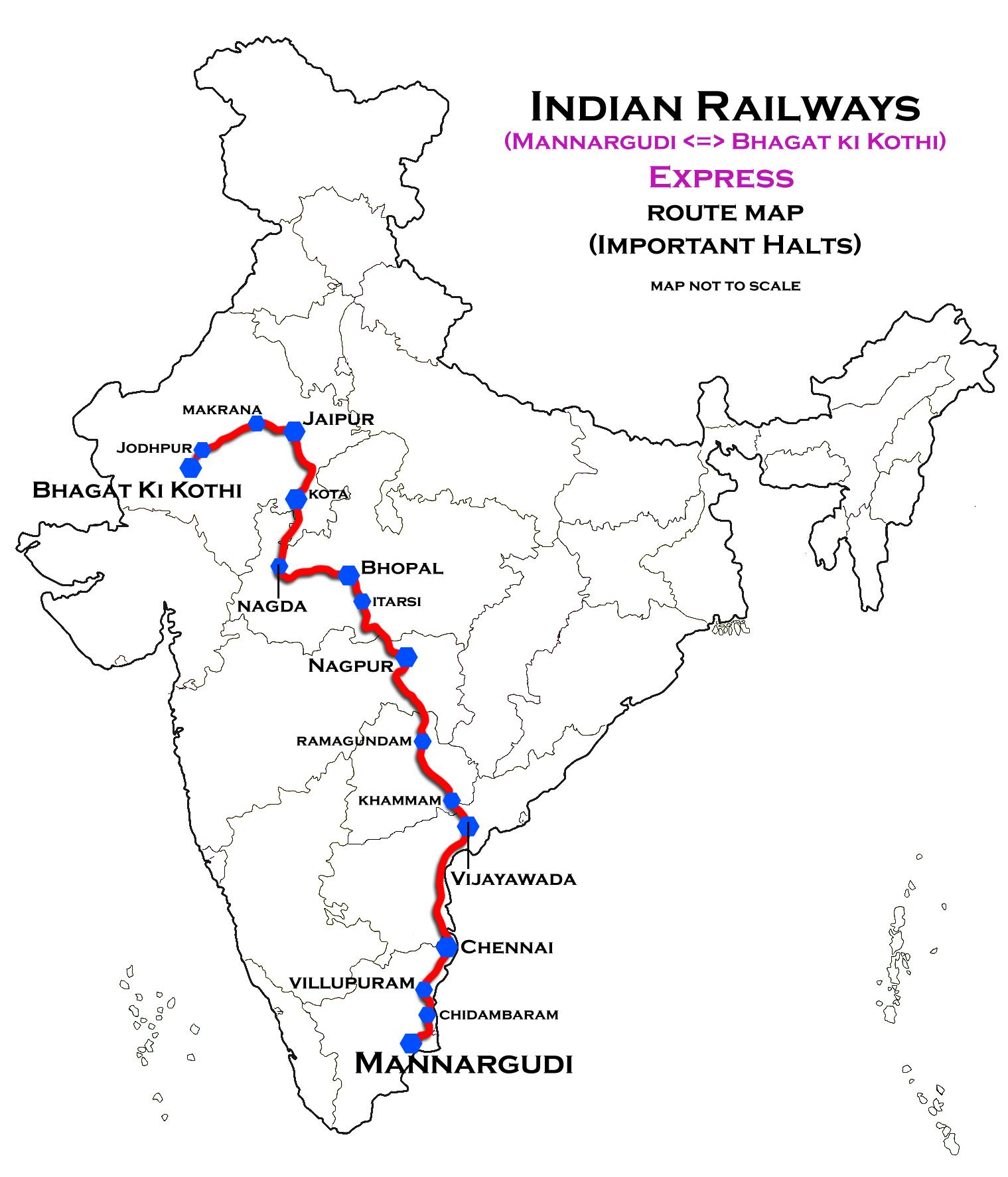 Bhagat Ki Kothi - Mannargudi Weekly Express - Wikipedia
