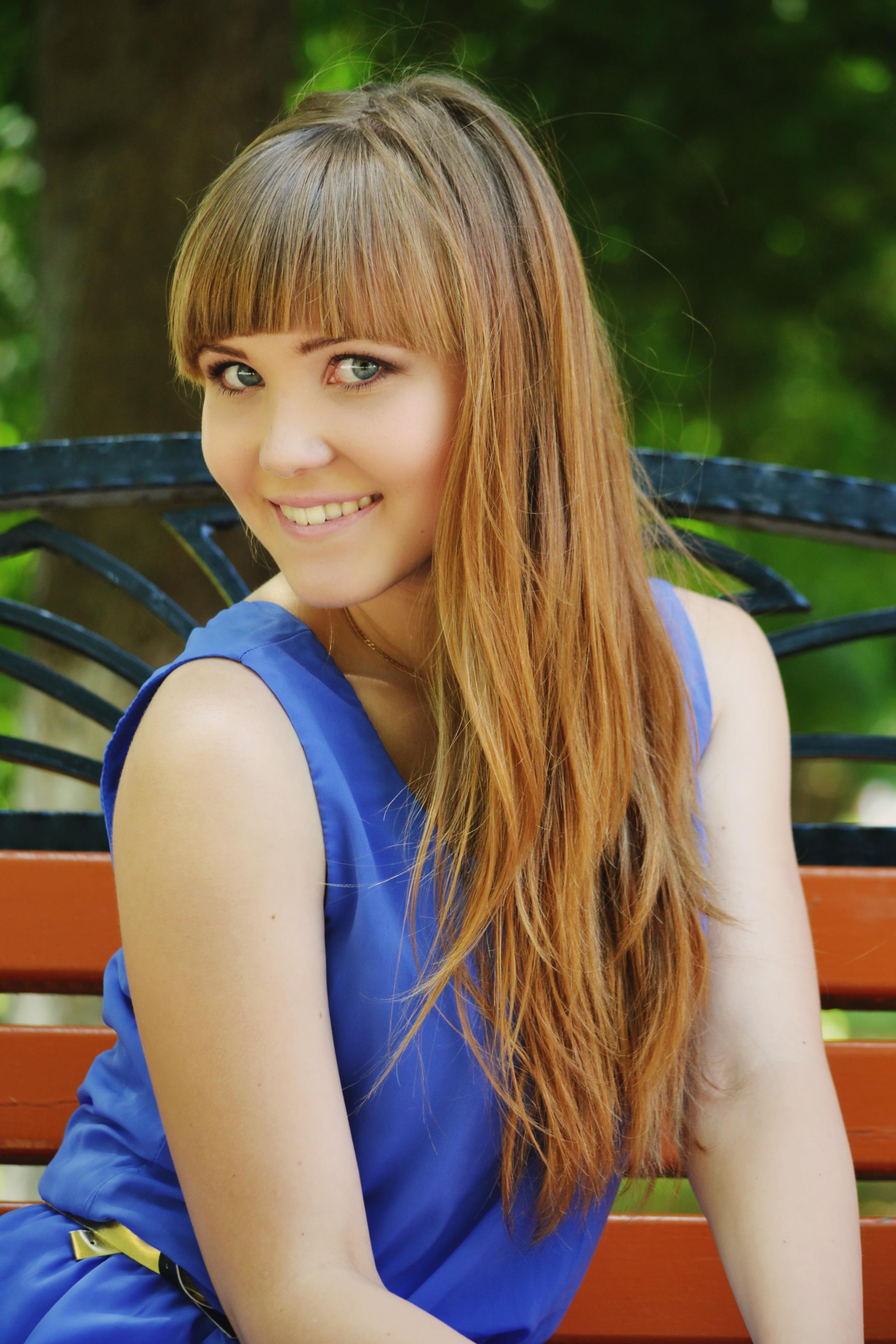 Нежная русская девушка
