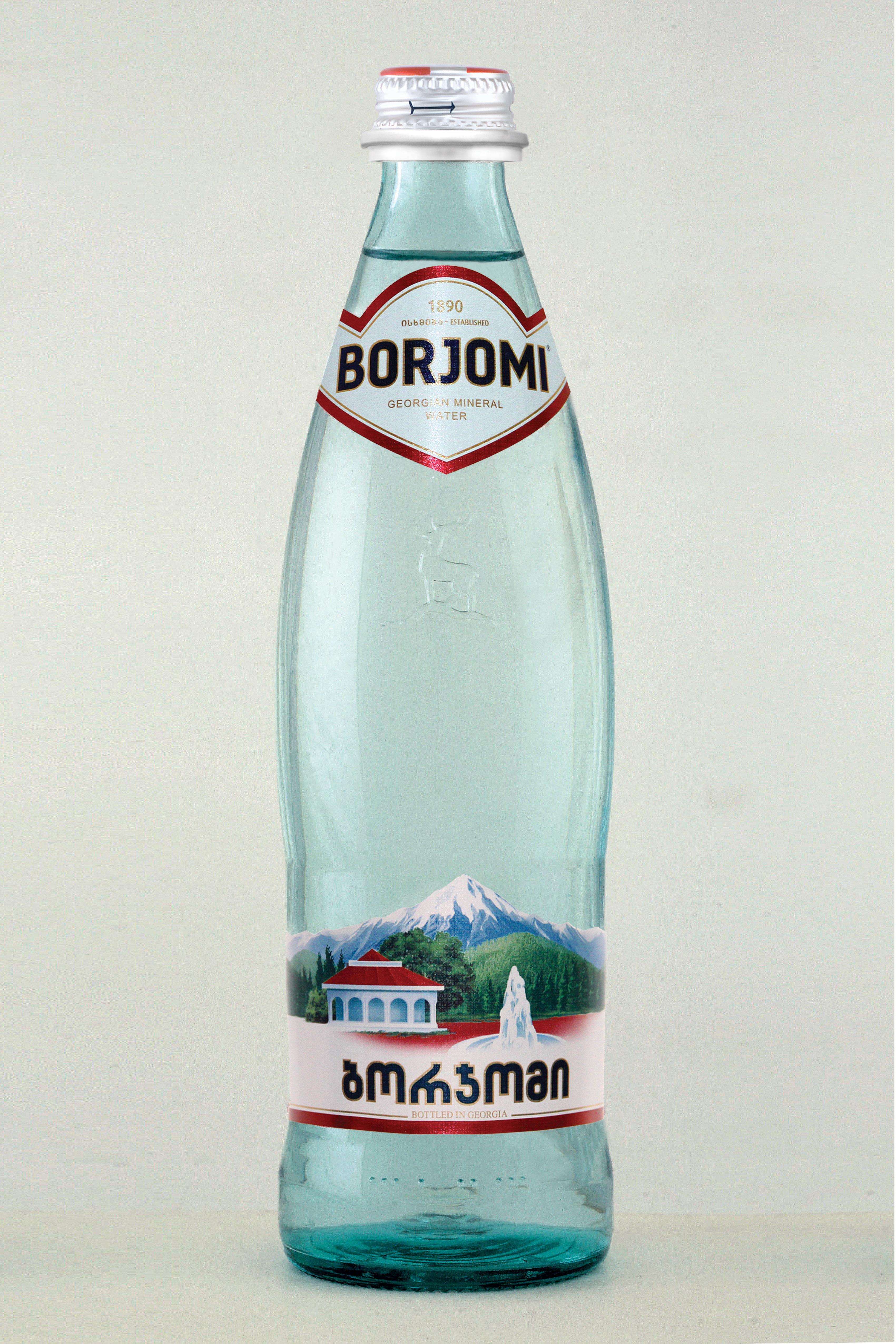 Bottled borjomi water