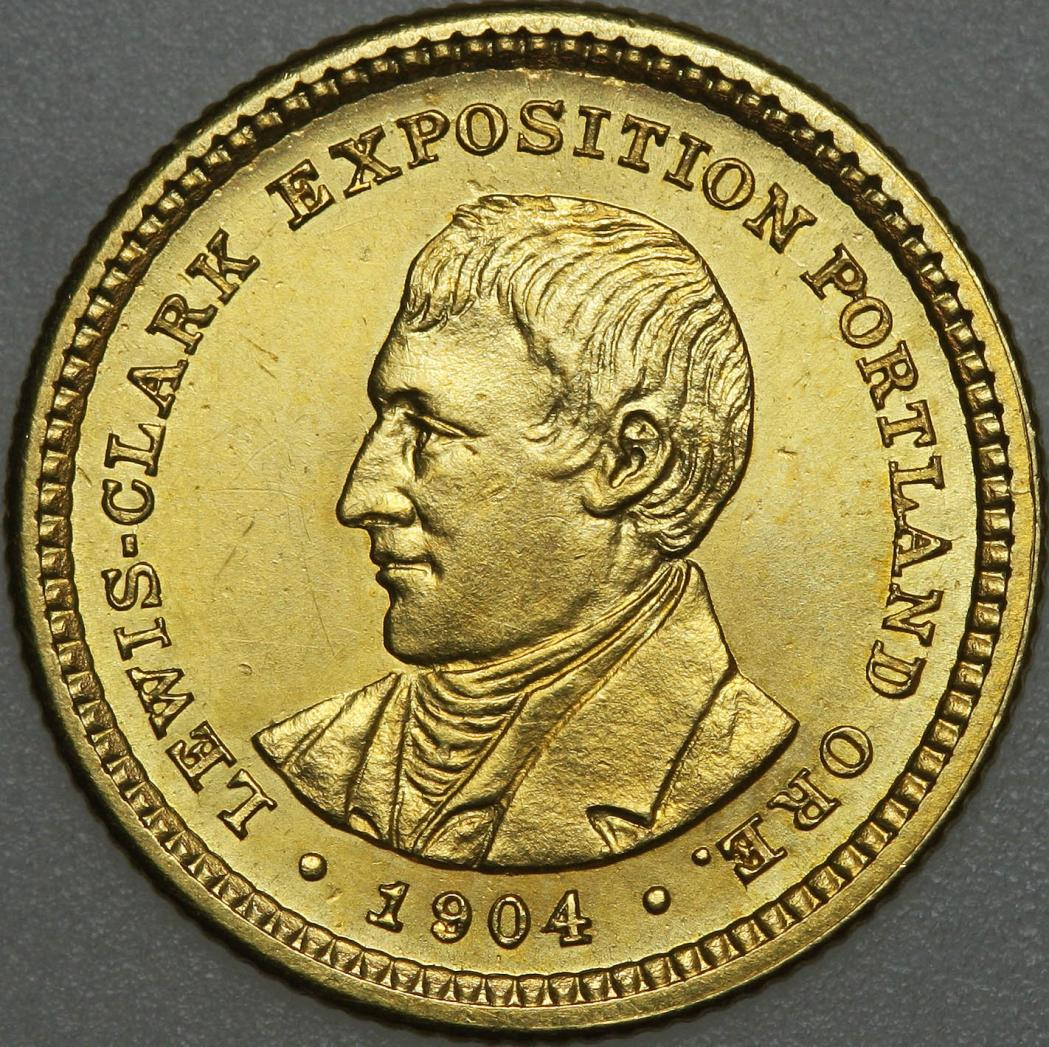 Lewis And Clark Exposition Gold Dollar Wikipedia
