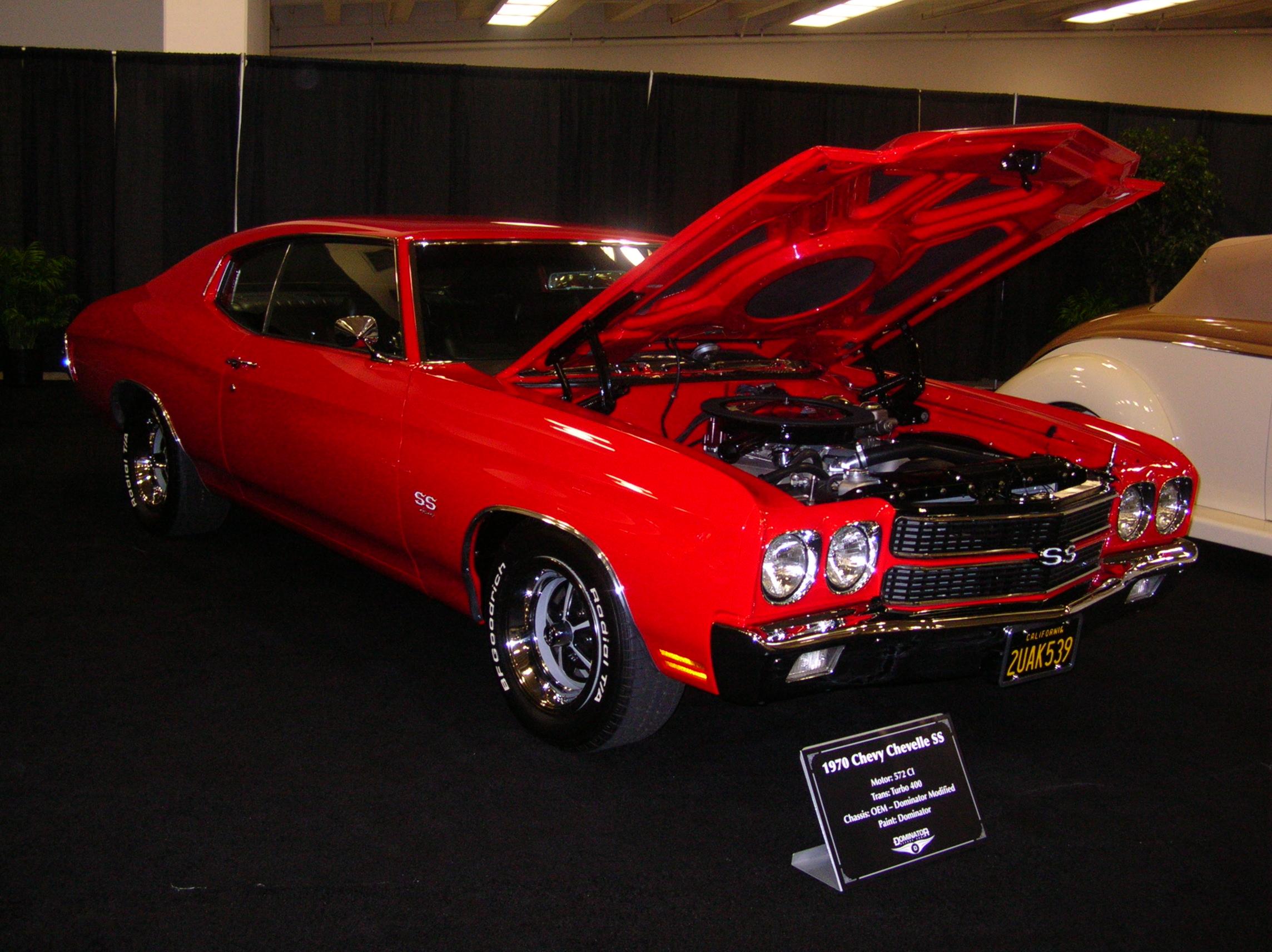 File 1970 Red Chevrolet Chevelle Ss Side Jpg Wikimedia Commons