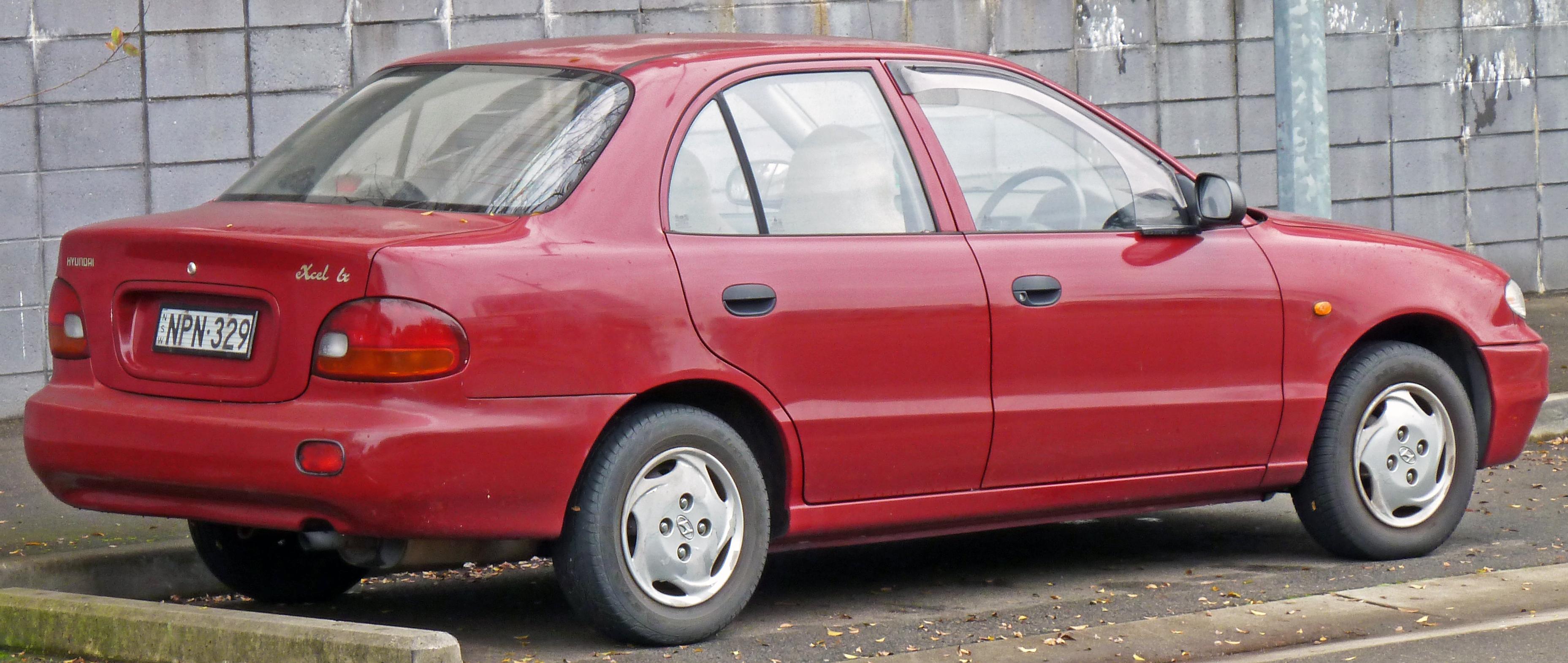 Hyundai excel 98