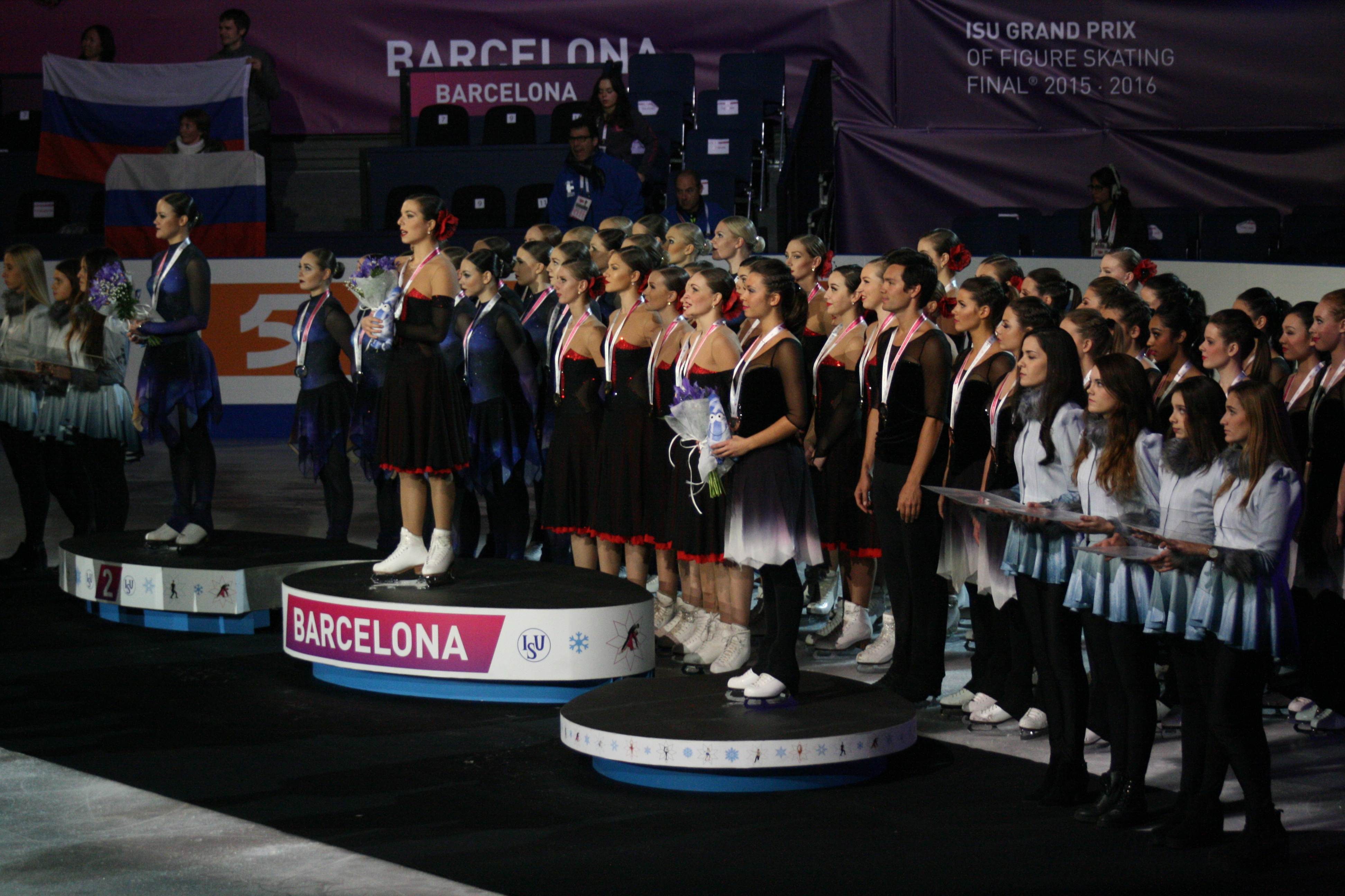 Synchronized skating competition