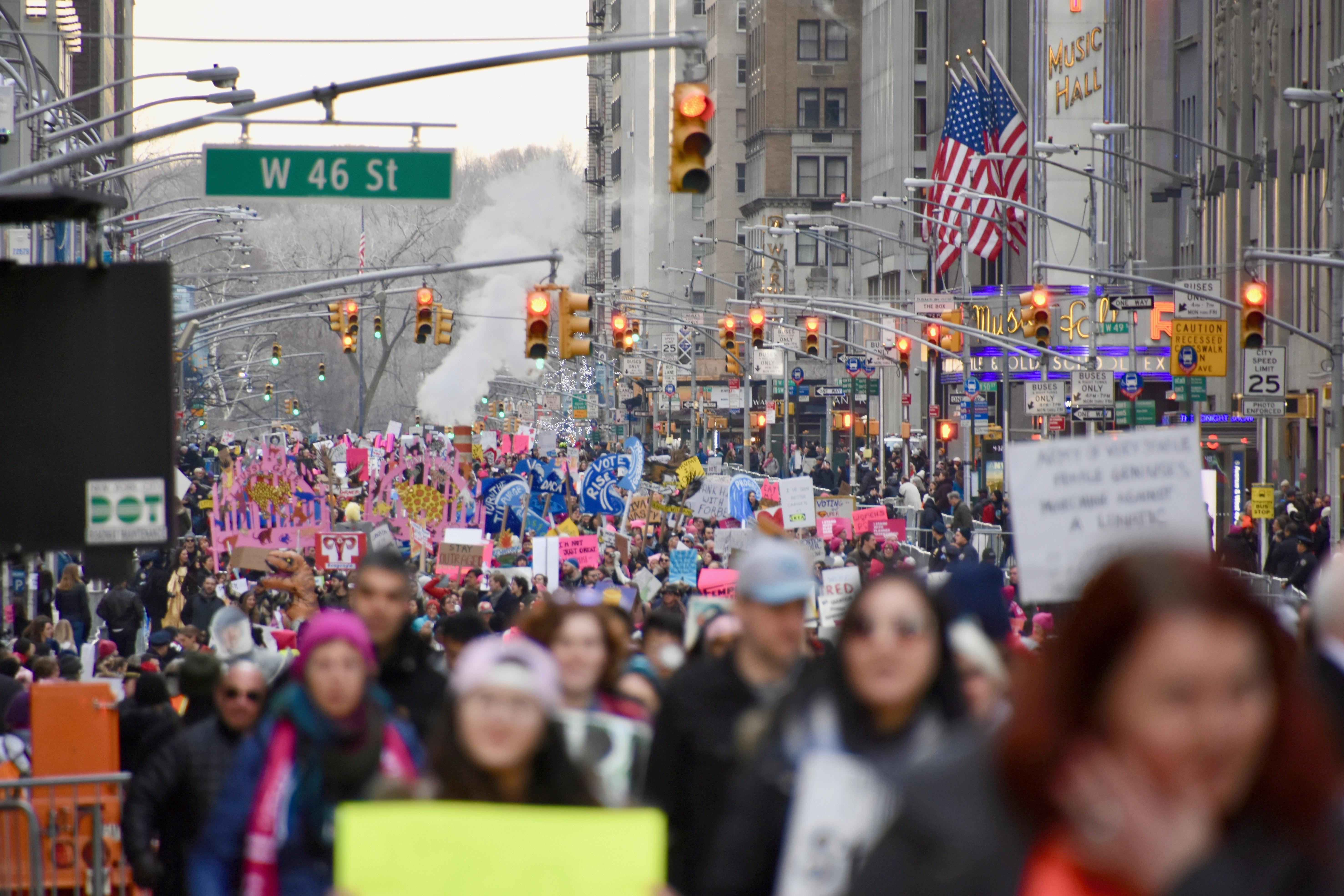 d5b74d9da201c2 2018 Women's March - Wikipedia