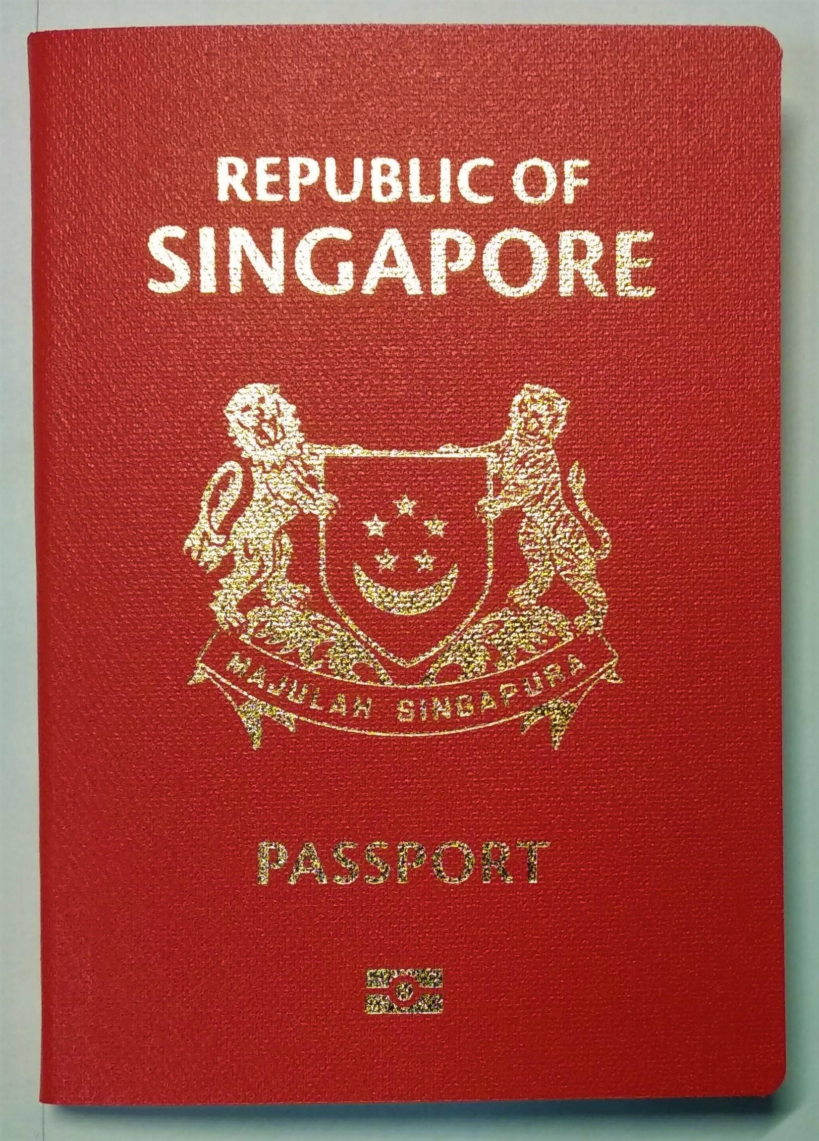 Singapore Passport Wikipedia