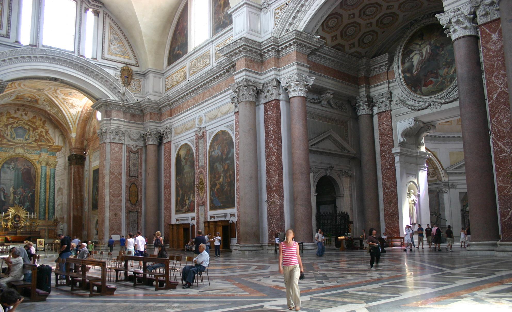Design Degli Interni Roma file:3221 - roma - santa maria degli angeli - interno - foto