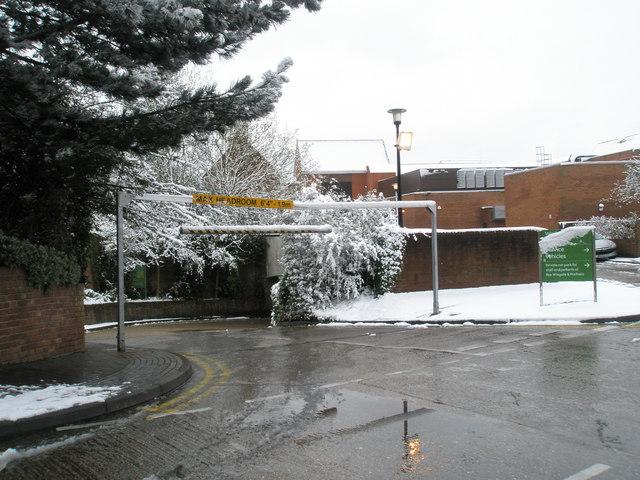 Waitrose Car Park Dorchester